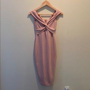 NOOKIE Blush pink dress XS